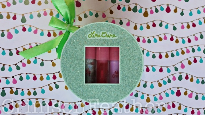 Lime Crime Mini Wet Cherry Lip Gloss Holiday Set – Winter Shine – Review and Swatches