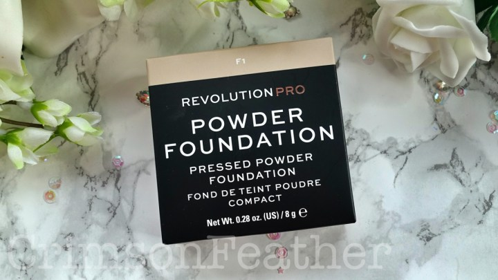 Revolution Pro Powder Foundation in F1 – Swatch and Review