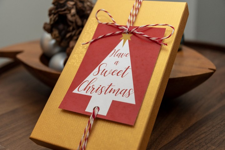 Have a Sweet Christmas Free Printable Tags