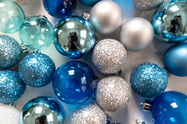 Glass Ornaments from Michaels