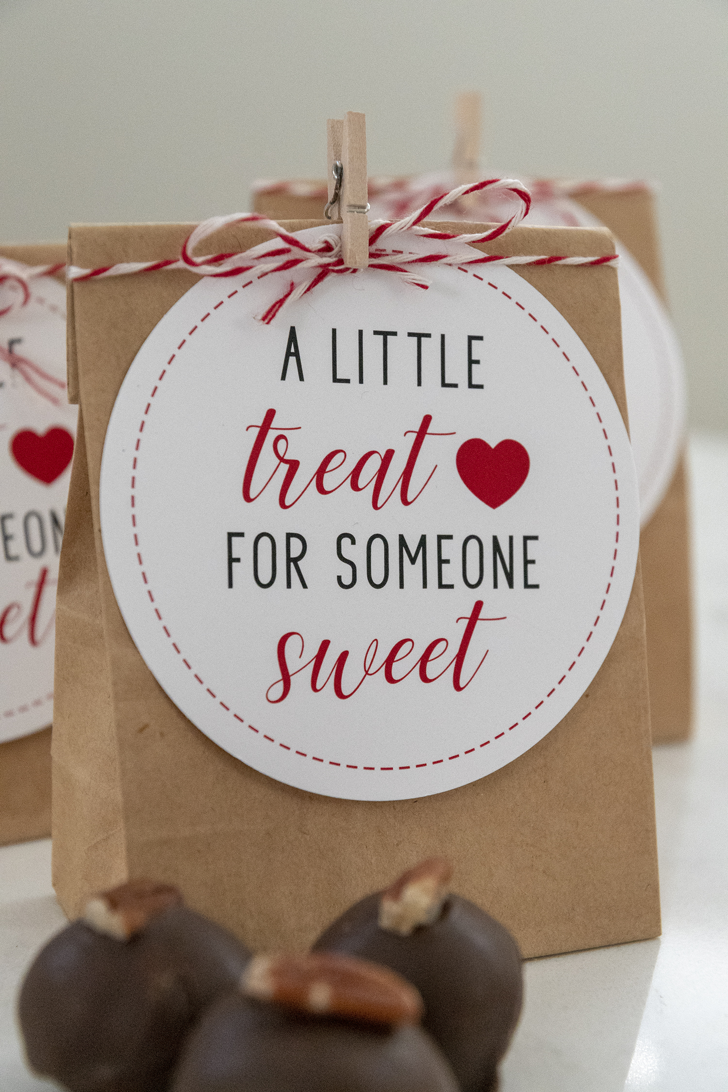 A Little Treat For Someone Sweet Printable Valentine S Day Gift Tags Faking It Fabulous