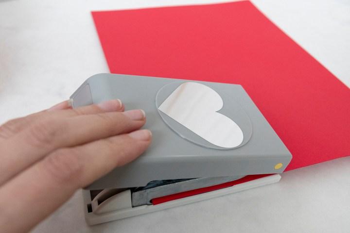 Heart Valentine Gift Wrap Embellishment