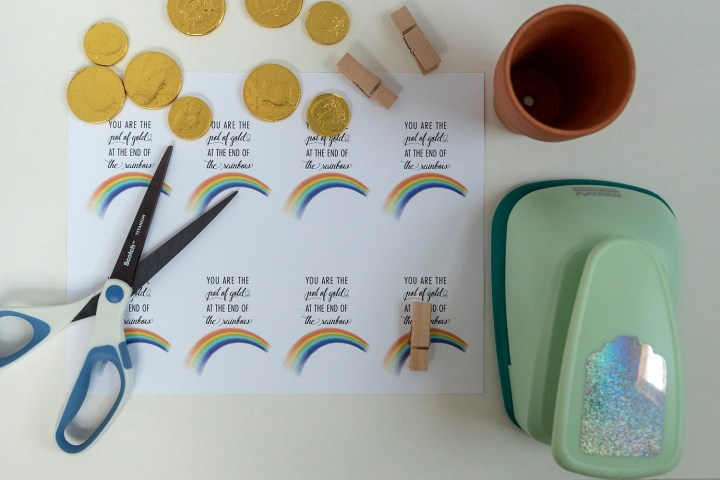 You are the Pot of Gold at the End of the Rainbow Gift Tag