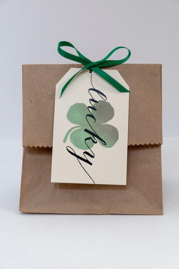 Free Printable Lucky Gift Tags