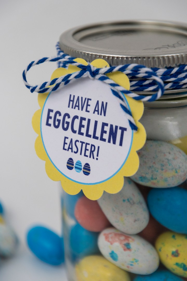 Free Printable Have an Eggcellent Easter Gift Tag