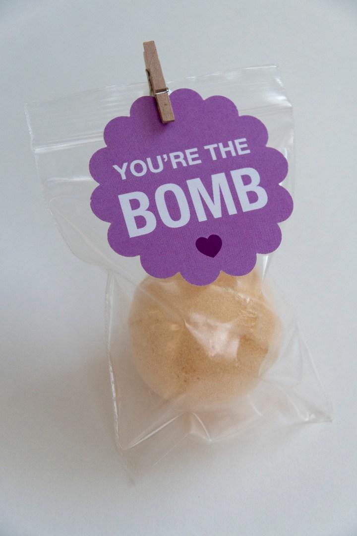 Bath Bomb Free Printable Tags