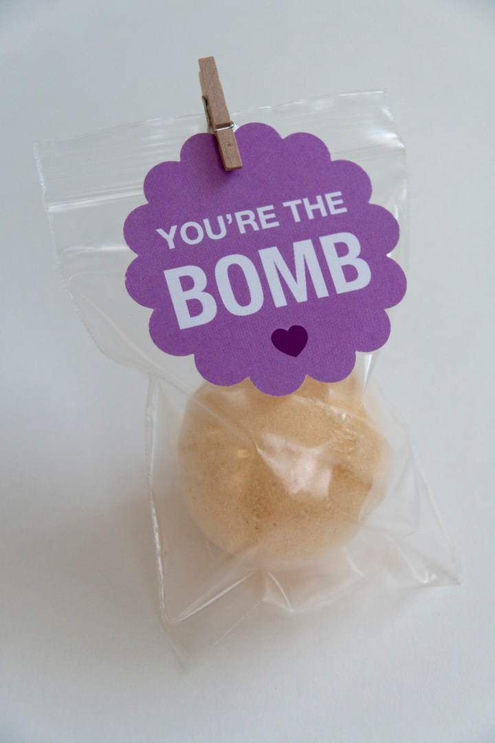 Bath Bomb Free Printable Tags