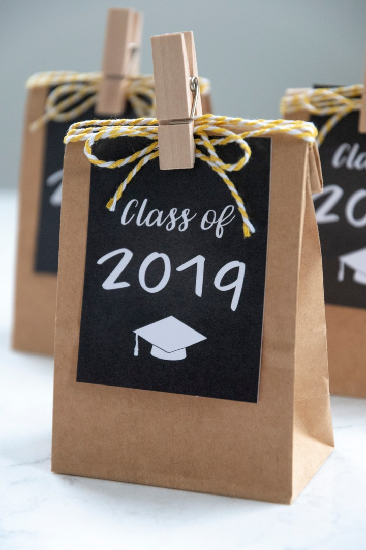 Class of 2019 Graduation Favor Tags