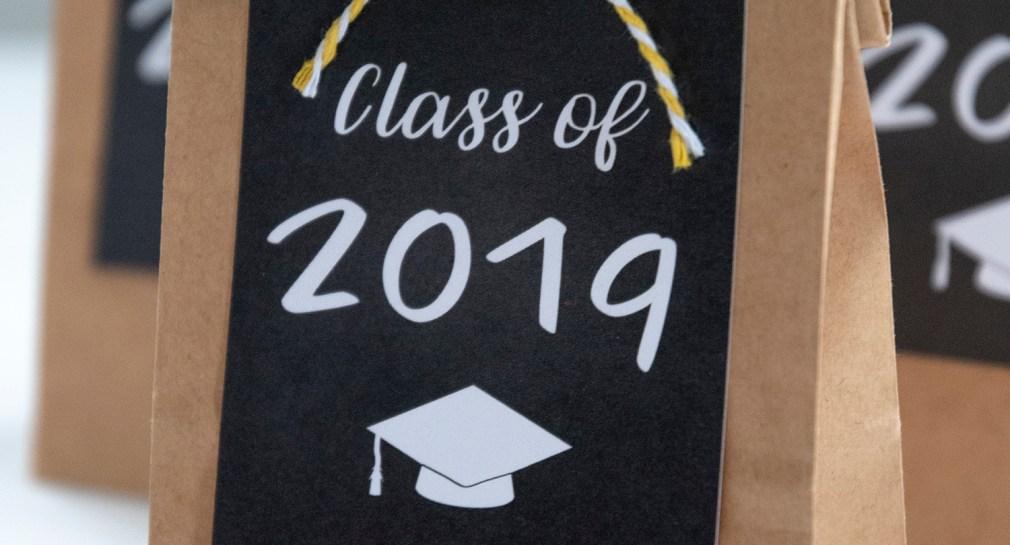 Class of 2019 Graduation Favor Tags