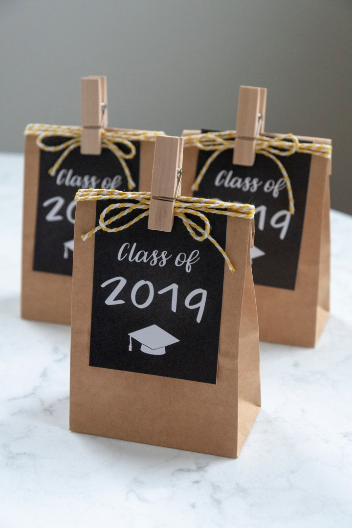 Printable Gift Tags for Graduation Party Favors
