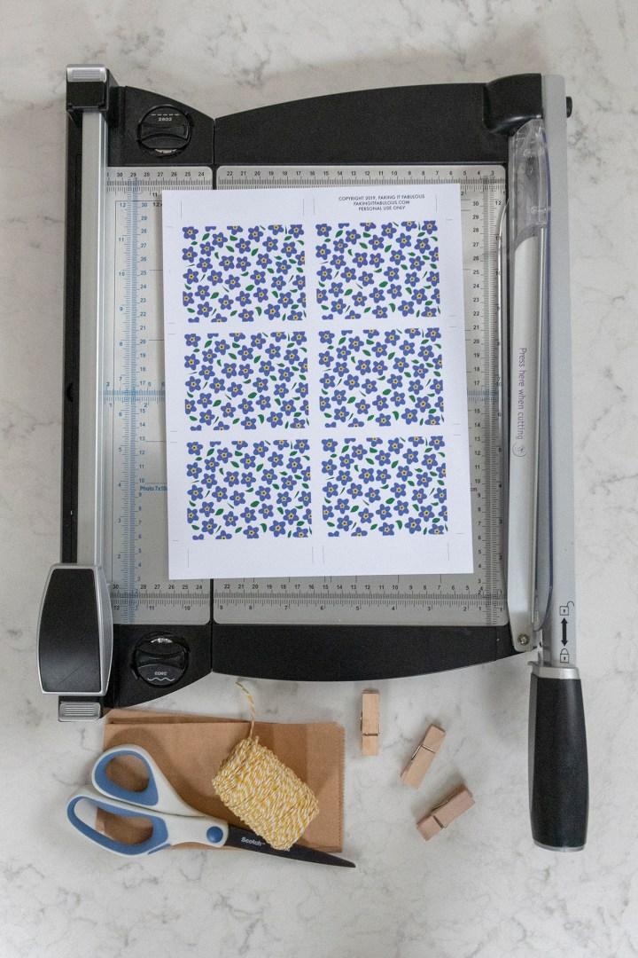 How to make printable gift tags