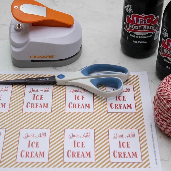 DIY Root Beer Float Kits