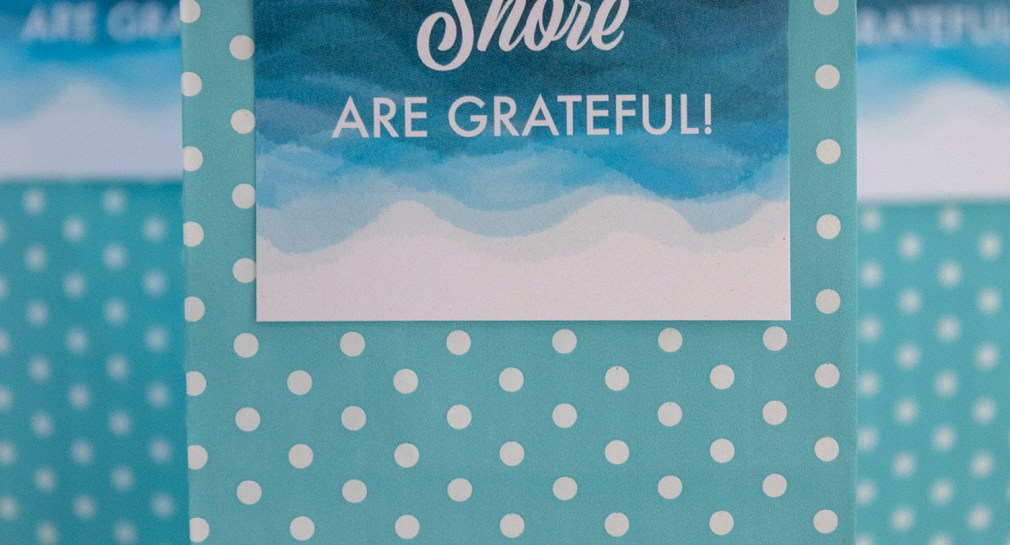 We Shore are Grateful Free Printable Gift Tags for Summer
