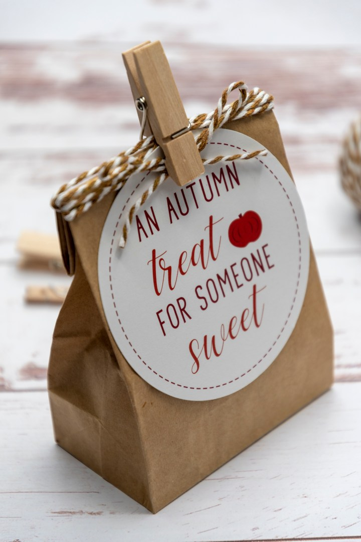 An Autumn Treat for Someone Sweet Gift Tags