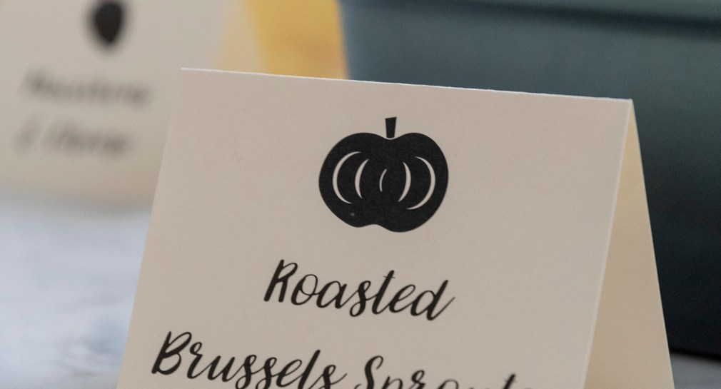 Free Printable Thanksgiving Buffet Tent Cards