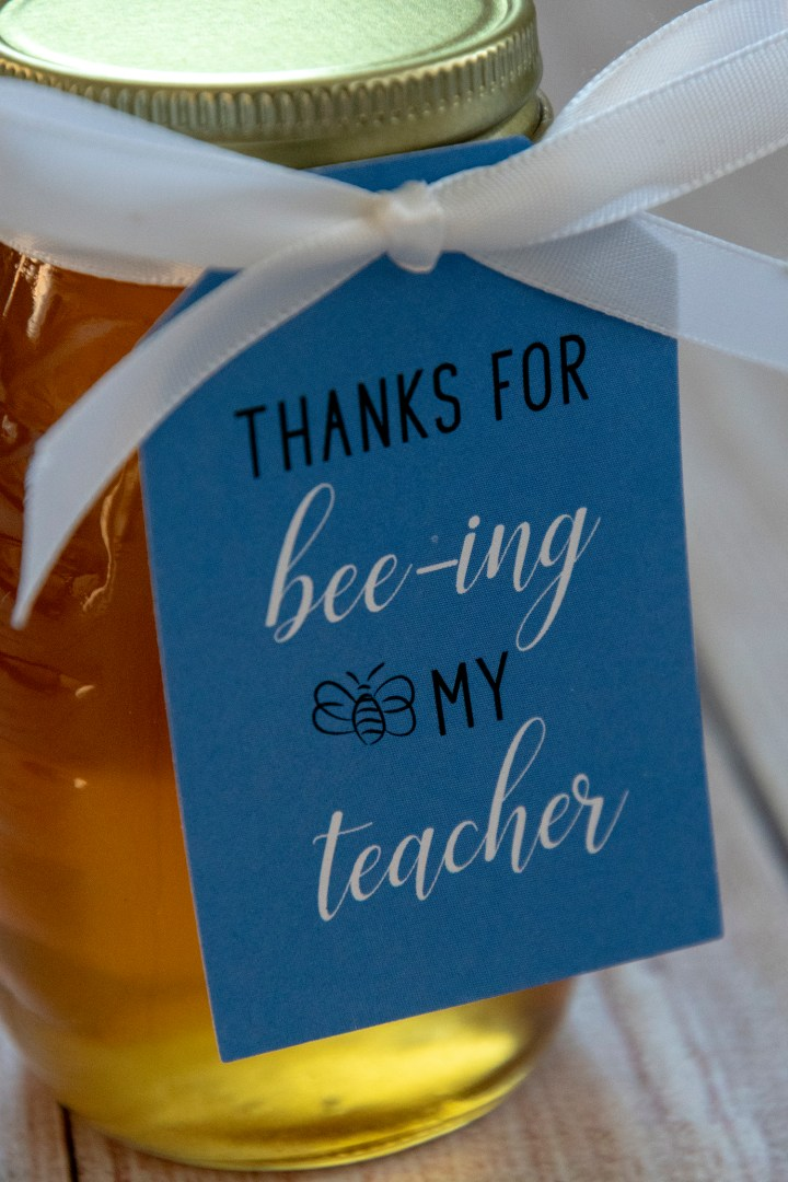 Thanks for Bee-ing My Teacher Gift Tags
