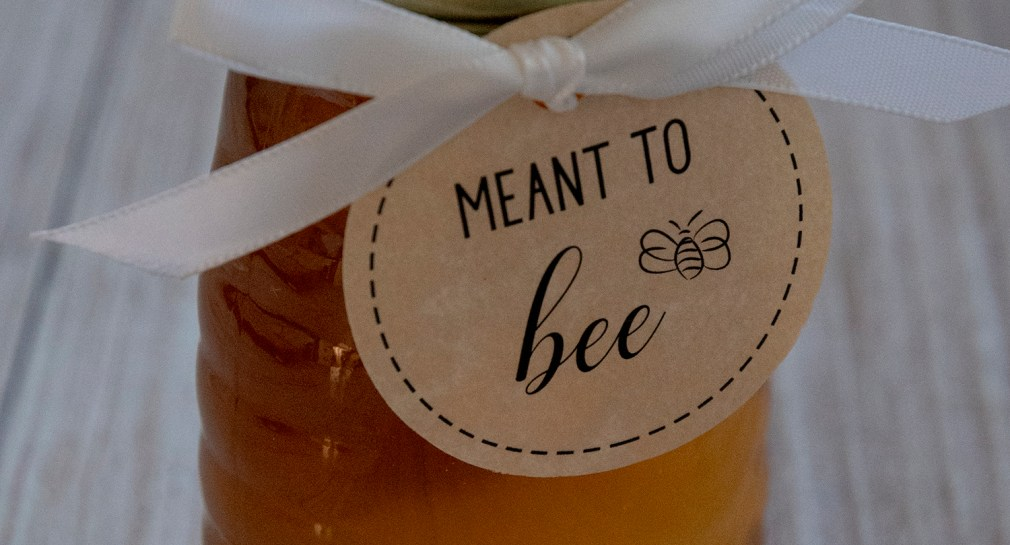 Meant to Bee Honey Wedding Favors