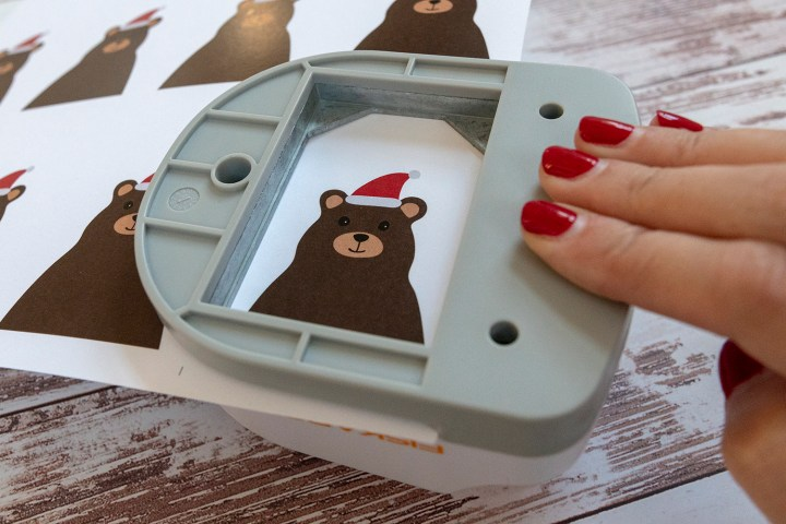 Free Printable Santa Bear Christmas Tags