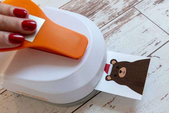 Free Printable Santa Bear Holiday Tags