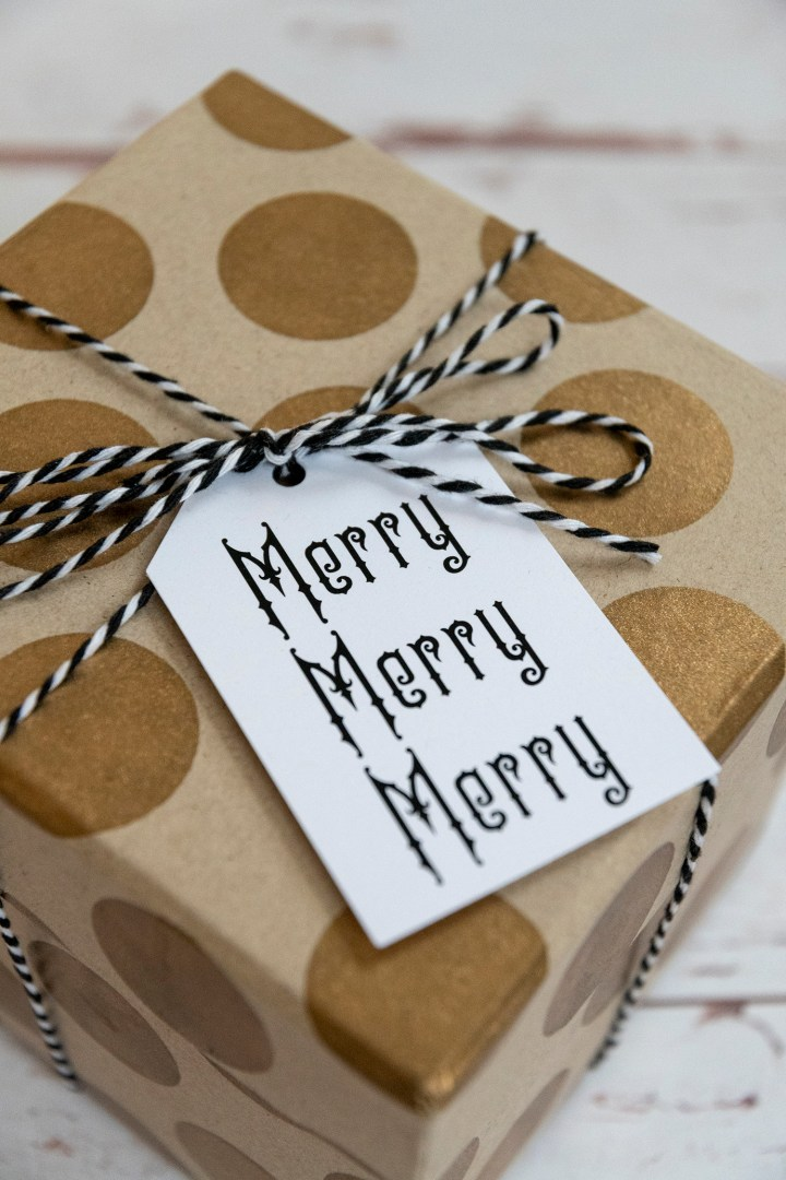 Merry Merry Merry Free Printable Gift Tags