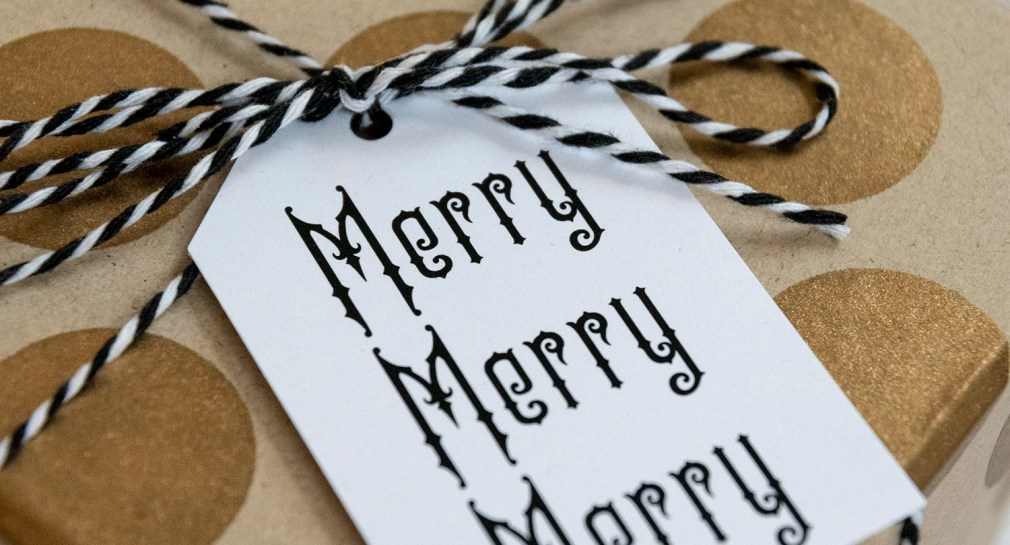 Merry Merry Merry Christmas Gift Tag Download