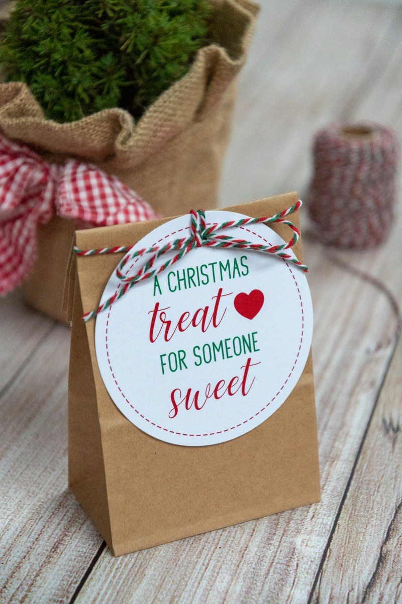 A Christmas Treat For Someone Sweet Free Printable Gift Tags Faking It Fabulous