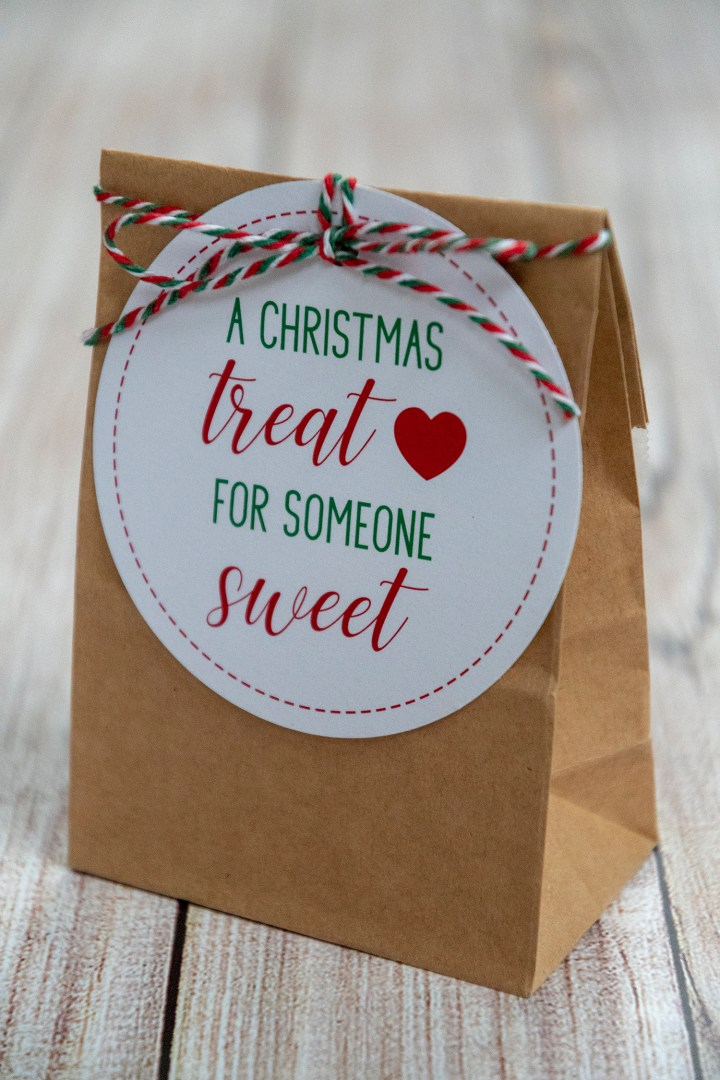 A Christmas Treat for Someone Sweet Gift Tags