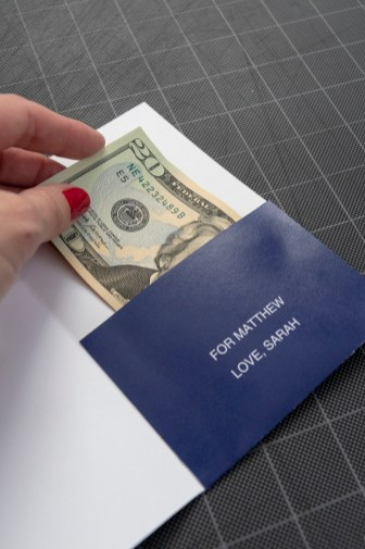 Money Envelope DIY