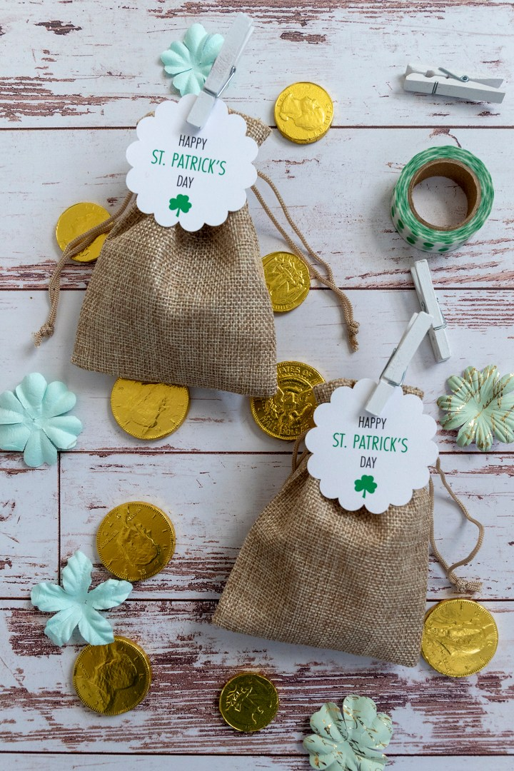 Free St. Patrick's Day Printable Gift Tag