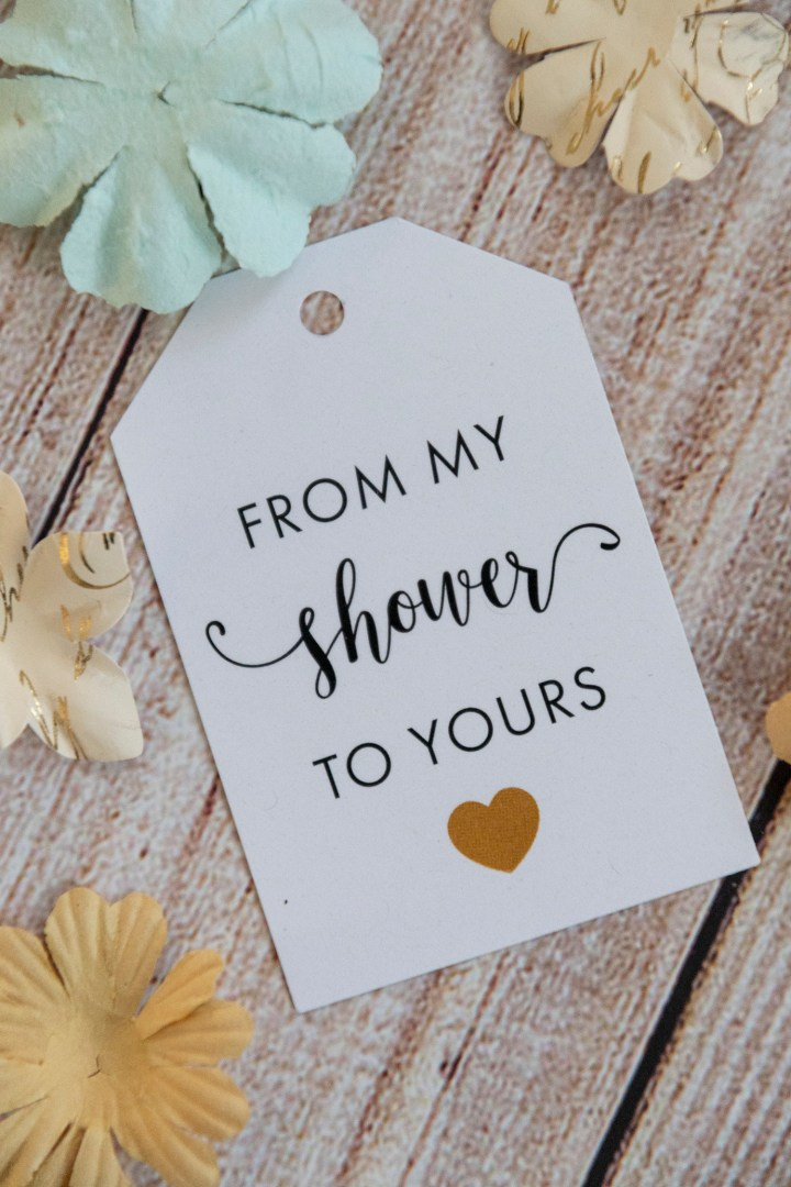 Baby Shower Favor Gift Tags