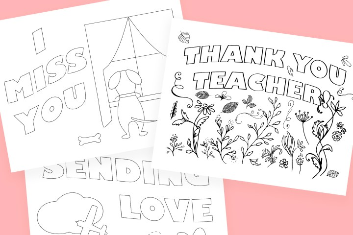 Social Distancing Coloring Printables For Kids