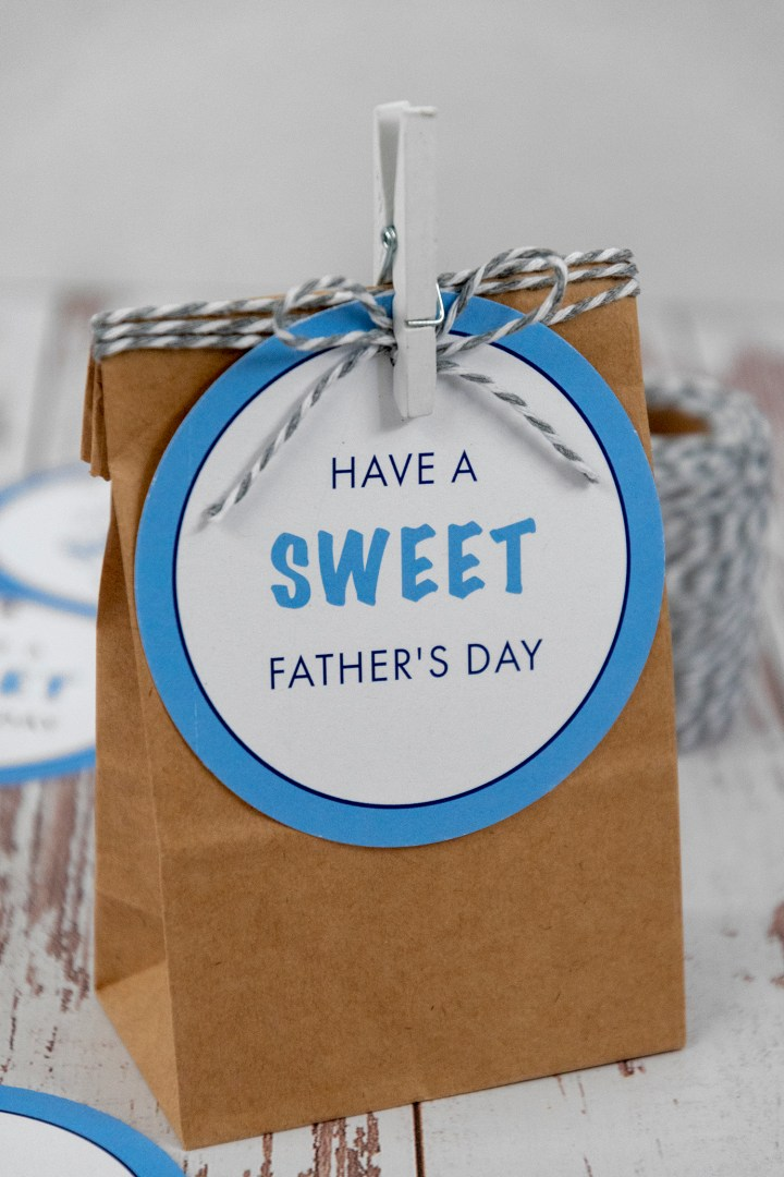 Have a Sweet Father's Day Gift Tags
