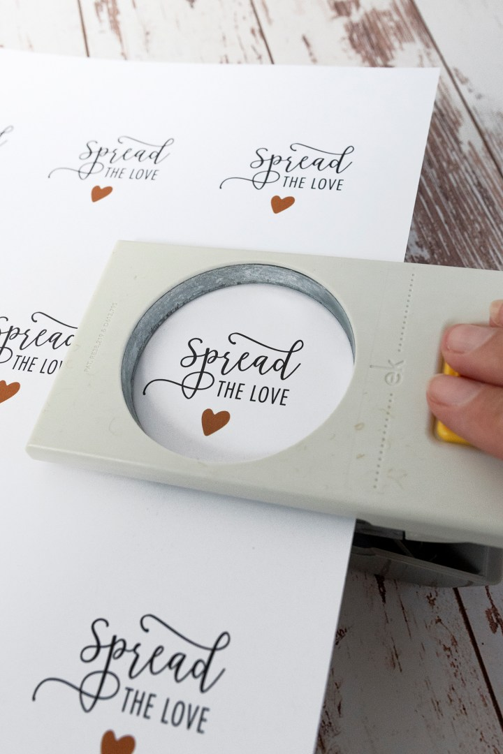 Spread the Love Free Printable Gift Tags for Downloading