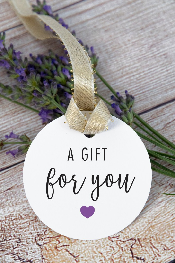 A Gift For You Free Printable Tags