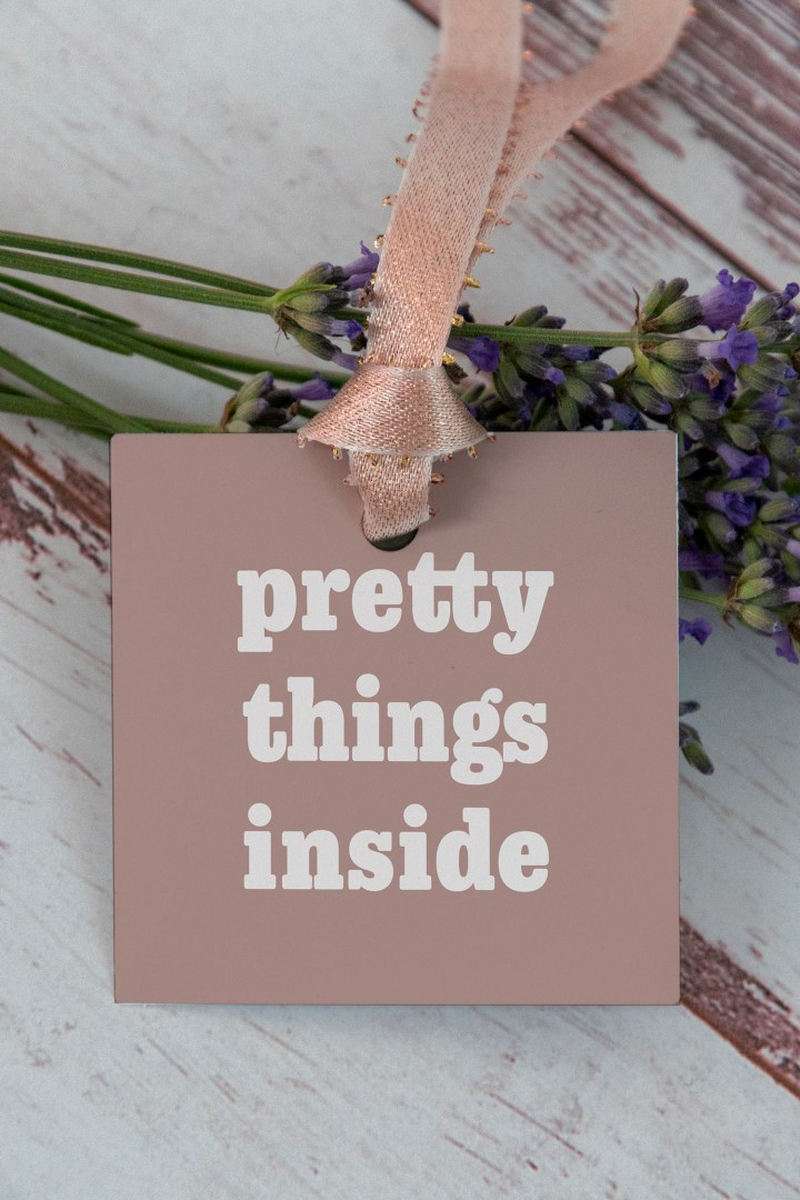 Pretty Things Inside Free Printable Gift Tags