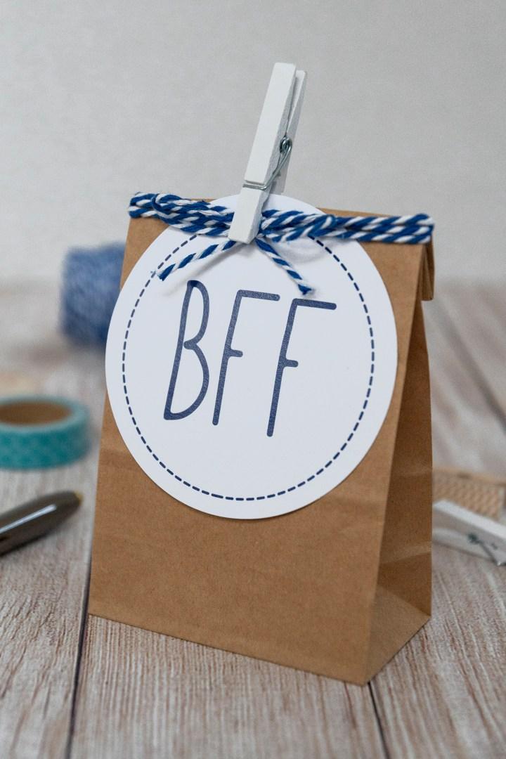 BFF Free Printable Gift Tags
