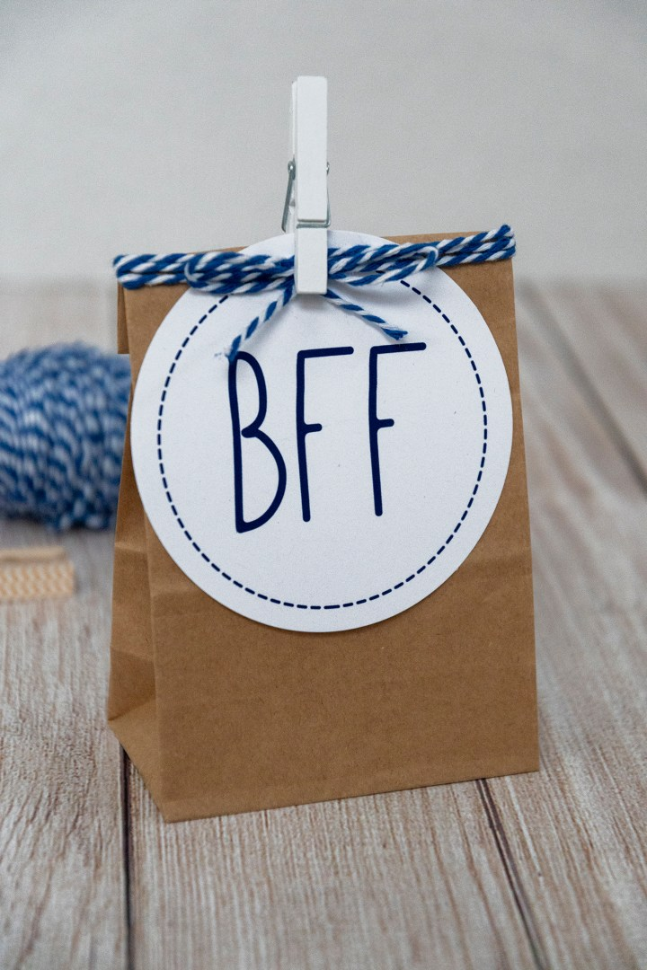 Best Friend Forever Gift Tag PDF to Download Free