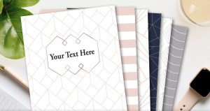 Binder cover and spine printables