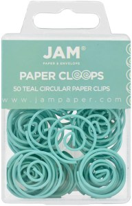 Turquoise Paper Clips