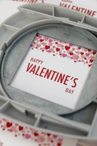 Happy Valentine's Day Free Printable Gift Tags