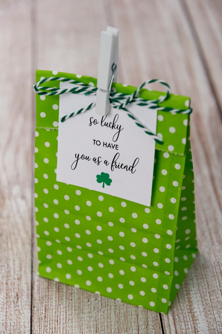 Lucky to Have You as a Friend Gift Tags for St. Patrick's Day