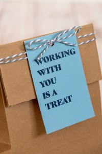 Working With You is a Treat Free Printable Gift Tags