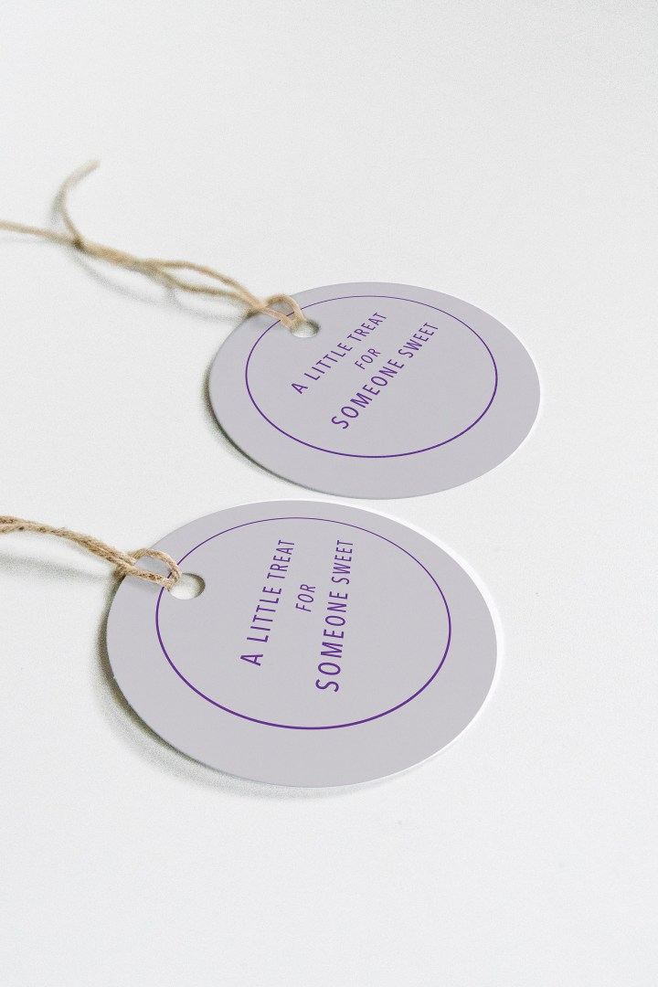 A Little Treat for Someone Sweet Lavender Printable Tags