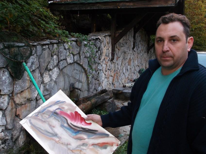 Рисунки, пленер, изложба, акварел