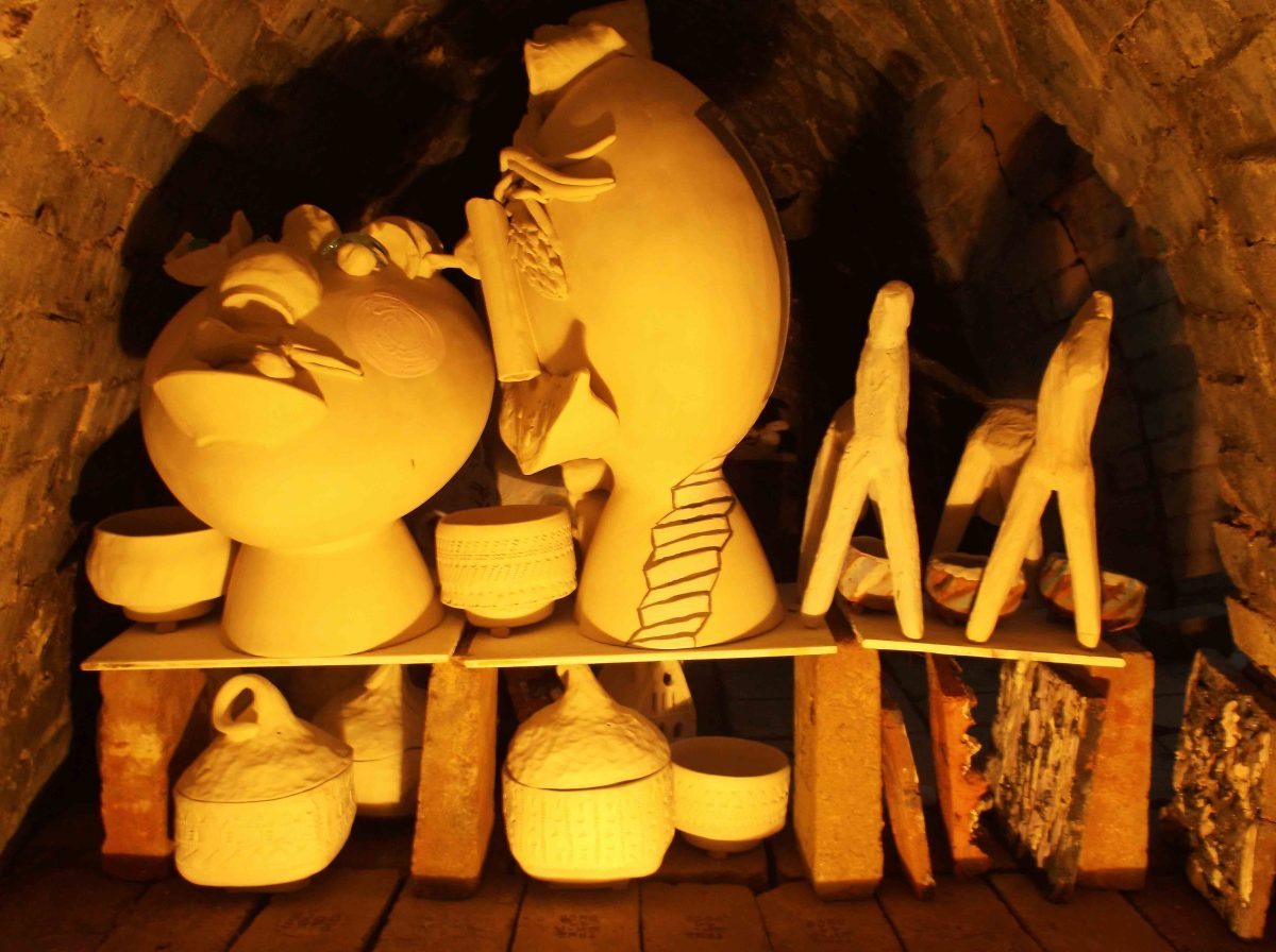 Аnagama kiln, ателие, керамика, грънчарство,ceramics, pottery