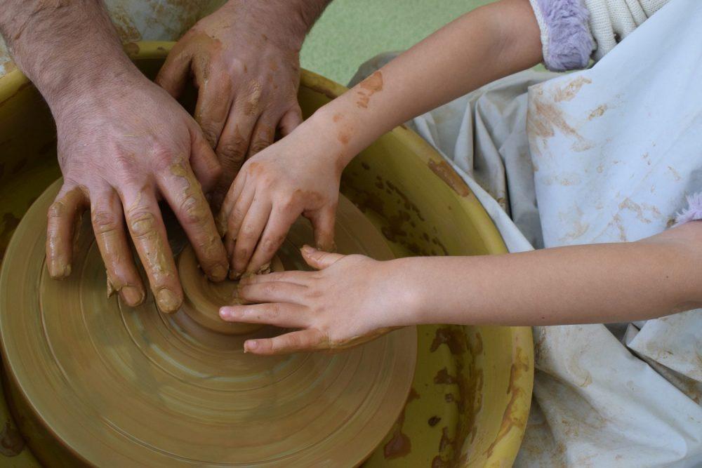 ателие по керамика, уроци по рисуване, арт джунгла, грънчарство