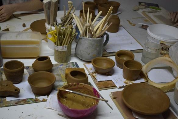 Курс по керамика и грънчарство за възрастни.