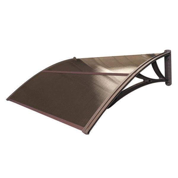 Усиленный козырек STOPrain (бронзовый/коричневый)