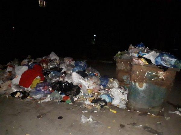 В Херсоне люди не довольны созерцанием мусора
