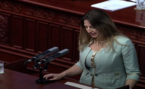 Кети Смилевска до ВМРО-ДПМНЕ: Aко не помагаат, барем да не одмагаат